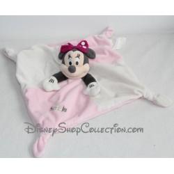 Doudou dish Minnie DISNEY STORE Pink White knot