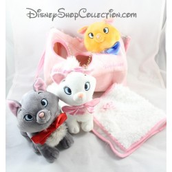 Peluches chats DISNEY STORE Les Aristochats sac Marie Berlioz et Toulouse