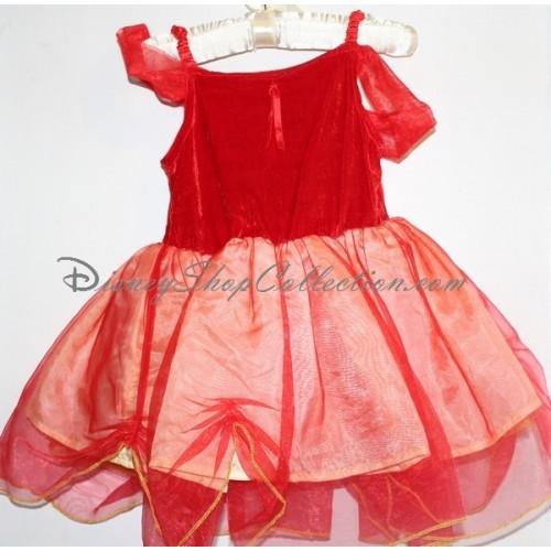 Belle disney robe rouge