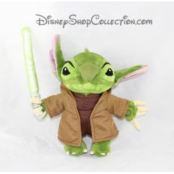 Peluche Stitch DISNEYLAND PARIS Maitre Yoda Lilo et Stitch Star Wars