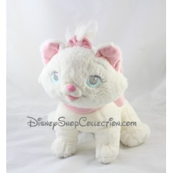 Marie DISNEY STORE Plush Aristocats with a pink bow 26 cm