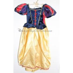 Robe de déguisement Blanche Neige DISNEYLAND PARIS + sac jaune et bleu 3 ans