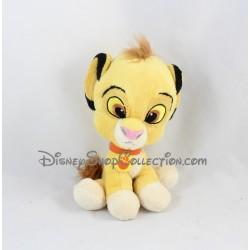 Peluche lion Simba NICOTOY Le Roi Lion Disney grosse tête 17 cm