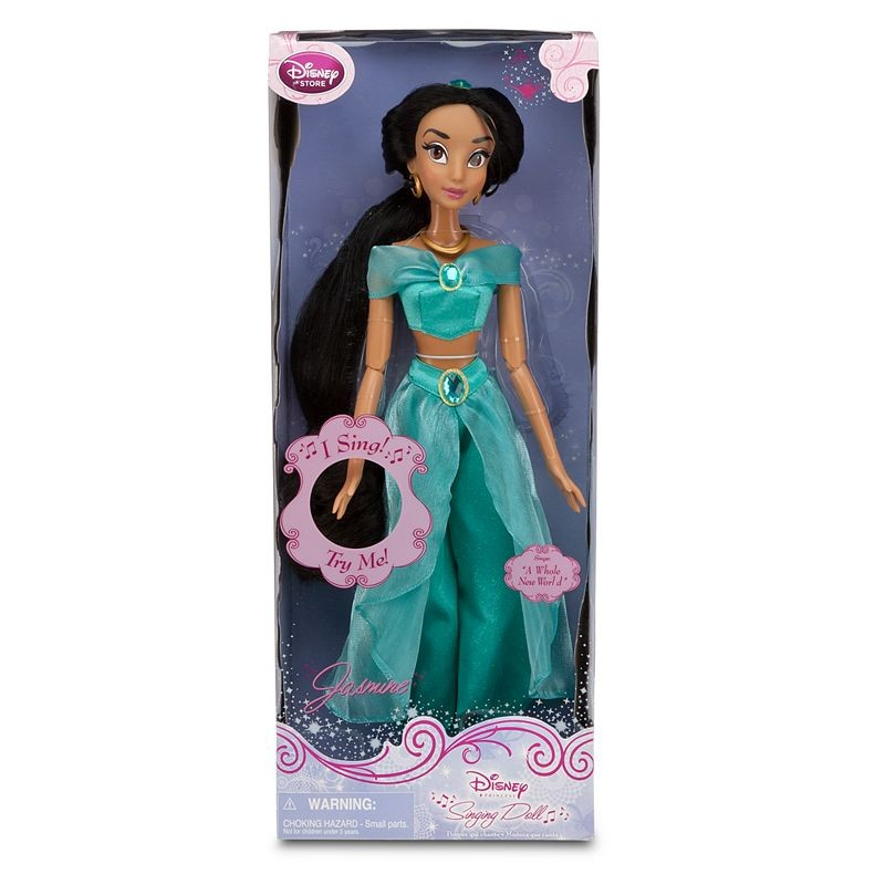 poup e chantante jasmine disney store singing doll aladdin. Black Bedroom Furniture Sets. Home Design Ideas