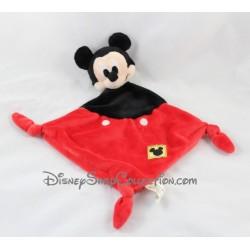 Doudou Mickey DISNEY NICOTOY red black diamond plate