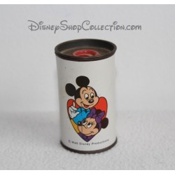 Anterior metal vintage Mickey Minnie DISNEY ALCO PRODUCTS sacapuntas de lápiz