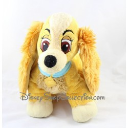 Peluche Chienne Lady DISNEY STORE La Belle et le Clochard 30 cm