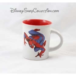 Mug Spiderman MARVEL SPEL tasse blanche et rouge double face 2009