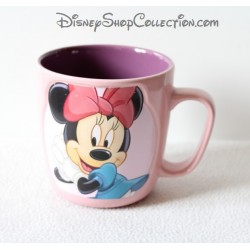 Minnie DISNEYLAND PARIS mug Charming pink purple 10 cm