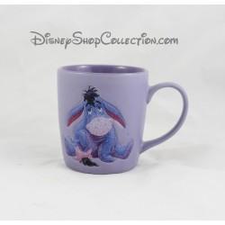 Mug mat Bourriquet DISNEYLAND PARIS violet pailleté tasse en céramique