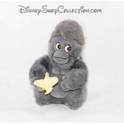 Peluche singe DISNEY Tok Tarzan singe banane gris noir 20 cm