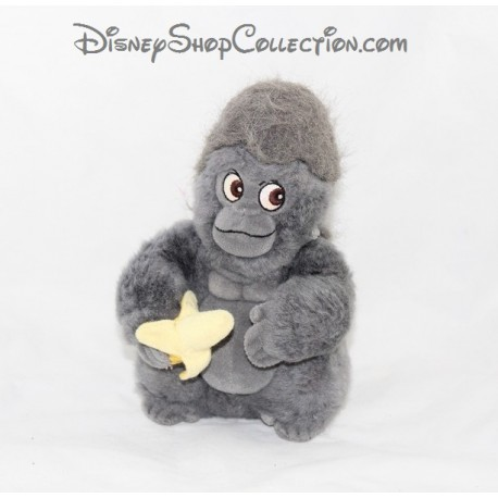 Peluche Singe Disney Tok Tarzan Singe Gris Noir 24 Cm Disneyshop Collection