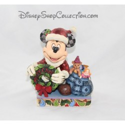 Figurine Mickey DISNEY TRADITIONS Père Noël Merry Christmas Showcase collection