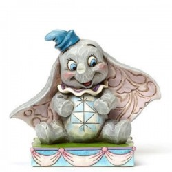 Figurine bébé Dumbo DISNEY TRADITIONS Showcase collection éléphant 8 cm