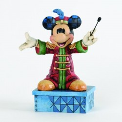Figurine Band Leader Mickey DISNEY TRADITIONS Chef d'orchestre Showcase