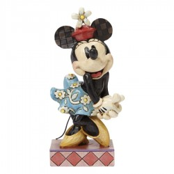 Figurine rétro Minnie DISNEY TRADITIONS Perfect Sweetheart Showcase 11 cm