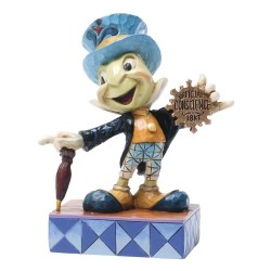 Figurine Jiminy Cricket DISNEY TRADITIONS Official conscience Pinocchio Showcase 11 cm