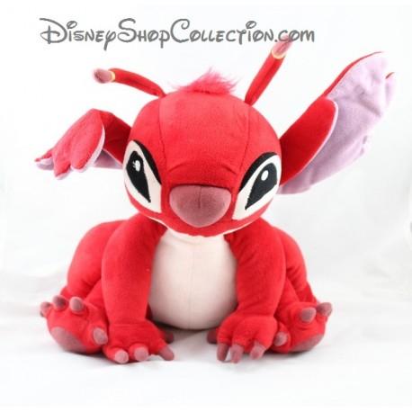 Plush Leroy Disney Lilo And Stitch Sitting Red Disney 27