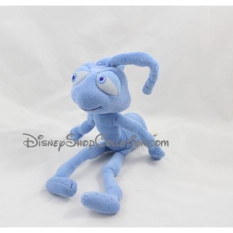 Peluche Tilt fourmi DISNEY STORE 1001 Pattes Pixar fourmi bleu 36 cm