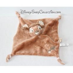 Flat comforter Bambi DISNEY NICOTOY beige brown leaf tassel