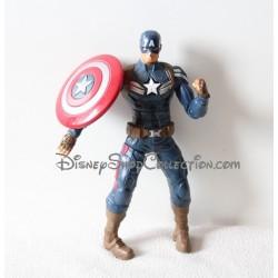 Figurine articulée Captain America MARVEL HASBRO lance bouclier 2013 Disney