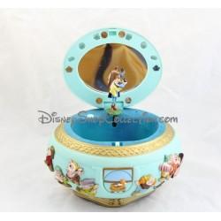 Boite à bijoux musicale Blanche-Neige et les 7 nains LANSAY Disney