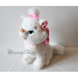 Peluche Chat Marie DISNEYLAND PARIS Les Aristochats Disney 26 cm