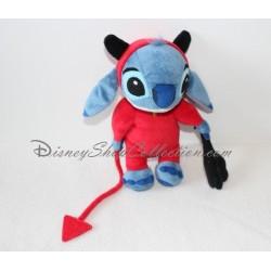 Peluche Stitch DISNEYLAND déguisé en diable Lilo et Stitch 23 cm