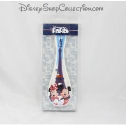 Repose Cuillère Mickey et Minnie DISNEYLAND PARIS Tour Eiffel céramique 23 cm
