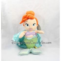 Poupée peluche bébé Ariel DISNEY WORLD La petite sirène Disney Babies 40 cm