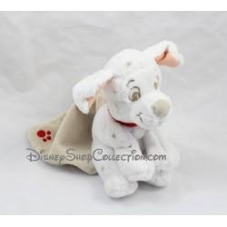 Doudou chien DISNEY STORE Les 101 Dalmatiens mouchoir 16 cm