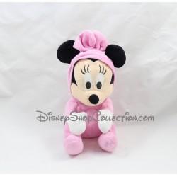 Peluche Minnie FETE FORAINES grenouillére pyjama rose Disney 23 cm