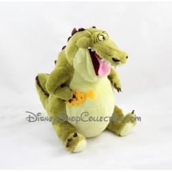 Peluche Louis crocodile DISNEY La princesse et la grenouille 25 cm
