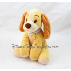 Peluche Chienne Lady DISNEY STORE La Belle et le Clochard 21 cm
