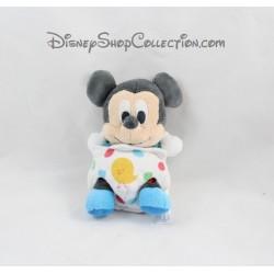 Peluche Mickey DISNEY NICOTOY pâques oeuf pois poussin