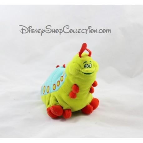 Stuffed Heimlich the Caterpillar DISNEY STORE 1001 legs Pixar A bug's Life