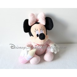 Peluche Minnie DISNEYLAND biberon aimanté rose Minnie bébé