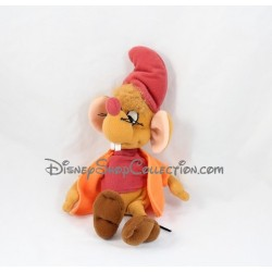 Peluche Jack souris DISNEY Cendrillon Jemini orange 25 cm