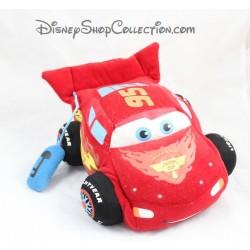 Peluche interactive Flash McQueen DISNEY PIXAR Cars sonore rouge 26 cm