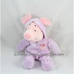 Peluche cochon Porcinet DISNEY NICOTOY capuche pyjama combinaison 30 cm