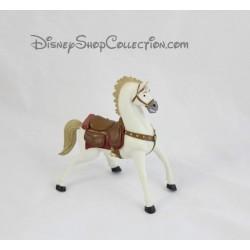 Figurine cheval Maximus BULLYLAND Raiponce Disney blanc 11 cm