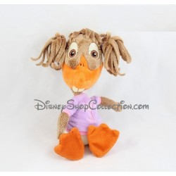 Peluche Abby Mallard canard DISNEY STORE Chicken Little poulet fille 24 cm