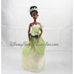 Cantando muñeca DISNEY STORE cantando muñeca princesa Tiana y el sapo