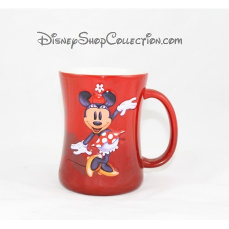 mug en relief minnie disneyland paris tasse rouge en c ramique d. Black Bedroom Furniture Sets. Home Design Ideas