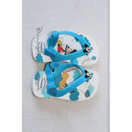 fe37bc91ba4 Tongs baby Mickey HAVAIANAS garçon printemps été pointure 20 ...