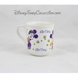 Mug Minnie EURODISNEY dessin tasse céramique Disney 9 cm