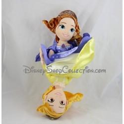 Poupée peluche Princesse Sofia DISNEY réversible Sofia et Ambre 40 cm