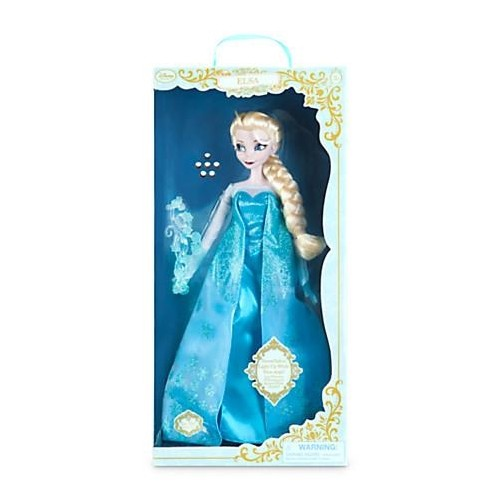 poup e chantante elsa eurodisney singing doll la reine des neiges f. Black Bedroom Furniture Sets. Home Design Ideas