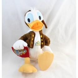 Peluche Donald DISNEY aviateur Donald Wing Master 38 cm