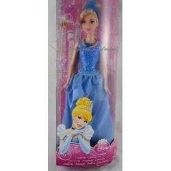 Poupée Cendrillon DISNEY MATTEL Cinderella robe de bal bleu 32 cm